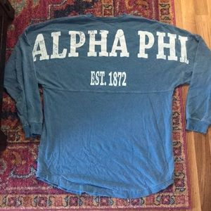 Alpha Phi Rugby Top